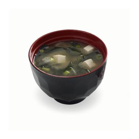 Miso суп с лососем